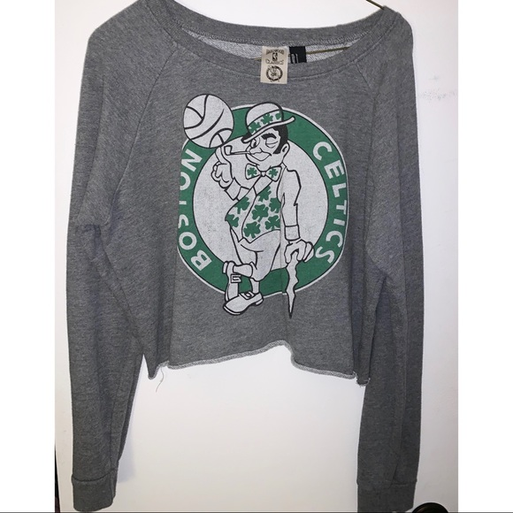 Forever 21 Tops - Boston Celtics crop top